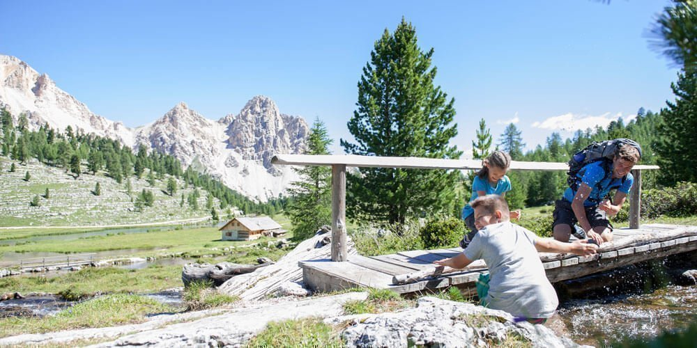 Relaxing holidays at Plan de Corones in an alpine scenery